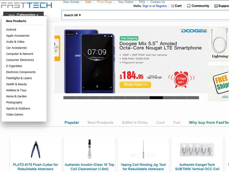 Fasttech Erfahrungen - Wie seriös ist der China Shop?